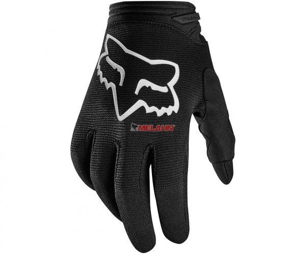 FOX Girls Handschuh: Dirtpaw Prix , schwarz/weiß
