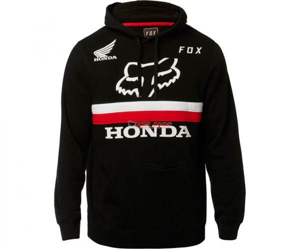 FOX Hoody: Honda, schwarz/rot