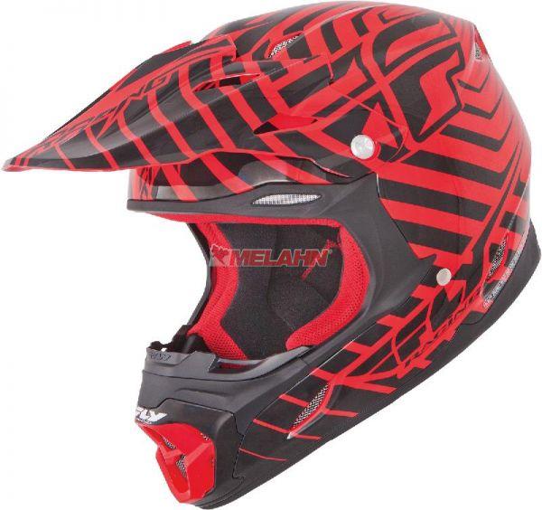 FLY Helm: Three.4, rot/schwarz