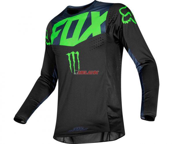 FOX Jersey: 360 Pro Circuit, schwarz/neongrün