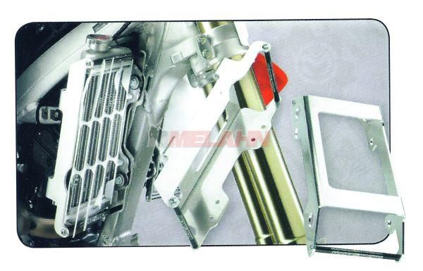 MOOSE Aluminium-Kühlerschutz (Paar), KXF 250 2006-2009