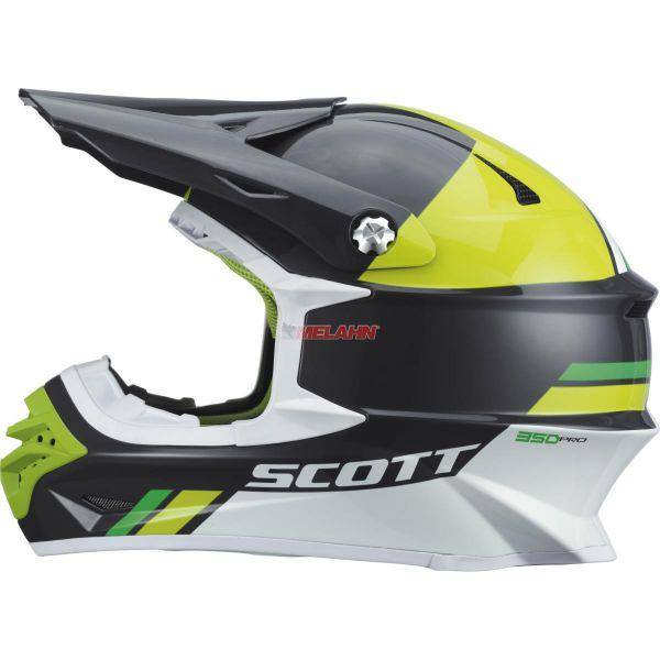 SCOTT Helm: 350 Pro, Trophy, schwarz/grün