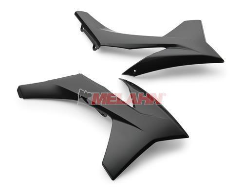 KTM Spoiler (Paar) ohne Dekor, SX 11-12 / EXC 12-13 / SMR 12, schwarz