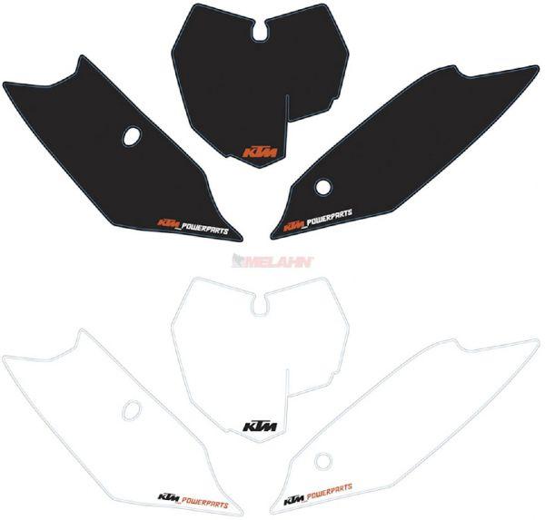 BLACKBIRD Starttafelaufkleber-Set EXC 05-07, weiß
