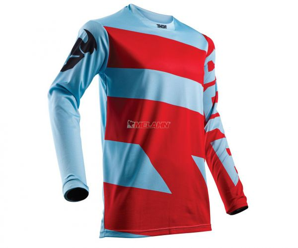 THOR Jersey: Pulse Level, rot/blau
