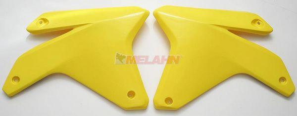 UFO Spoiler (Paar), Kühlerverkleidung RMZ 450 05-06, gelb2001
