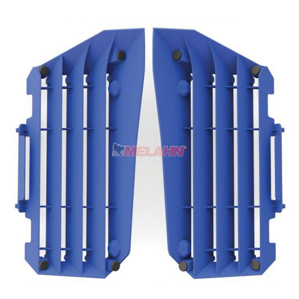POLISPORT Kühlerschutz (Paar) HVA (außer TC 250) / KTM SX (außer 250 2T) 16-18, blau