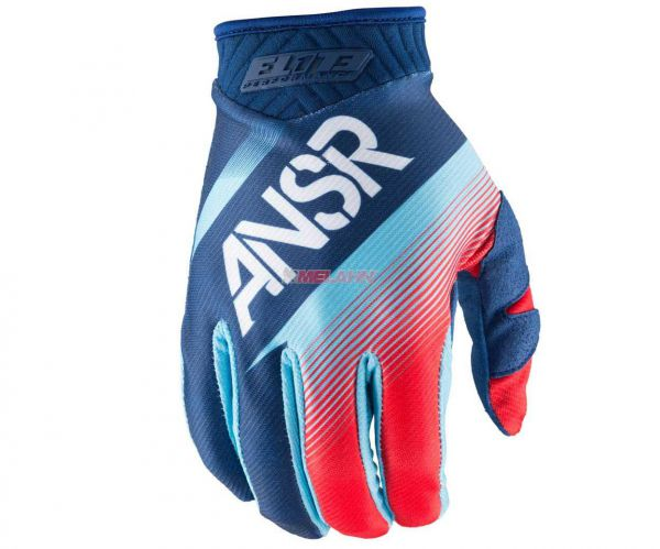 ANSWER Handschuh: Elite, blau/rot