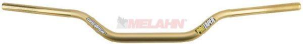 PRO TAPER Lenker: Contour (28,6mm) Honda CR (hoch), gold