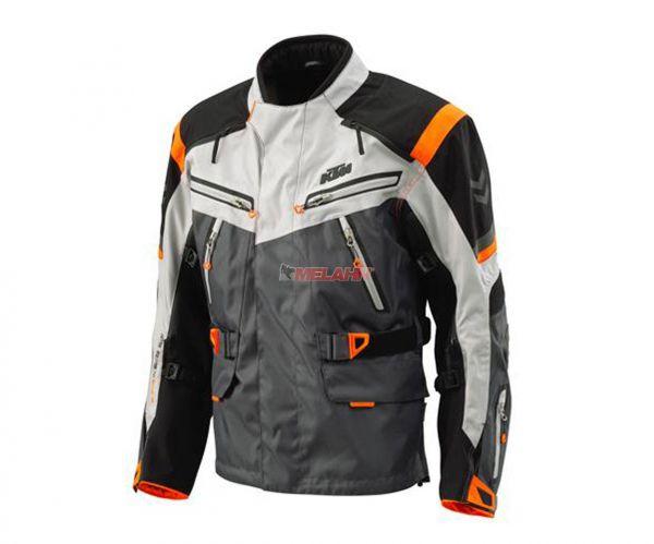 KTM Jacke: Defender, grau/orange