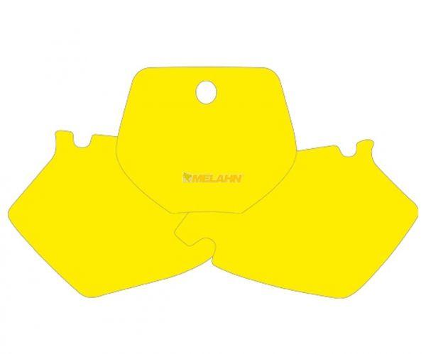 BLACKBIRD Startnummernuntergrund YZ 125/250 96-99, gelb