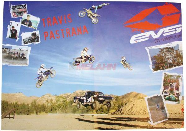 EVS Poster: Travis Pastrana 2010 (59x42cm), gefaltet