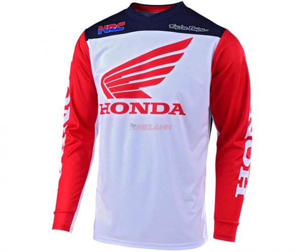 TROY LEE DESIGNS Jersey: Honda GP, rot/weiß