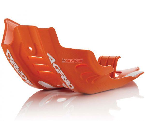 ACERBIS Kunststoff-Motorschutz klein, orange, 450 SX-F 16-18
