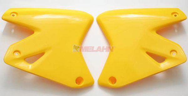 UFO Spoiler (Paar), Kühlerverkleidung DRZ 400 00-09, gelb