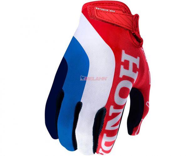 TROY LEE DESIGNS Handschuh: Air Glove Honda, rot/weiß