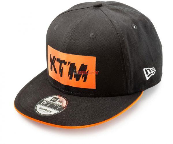 KTM Cap: Radical, schwarz/orange