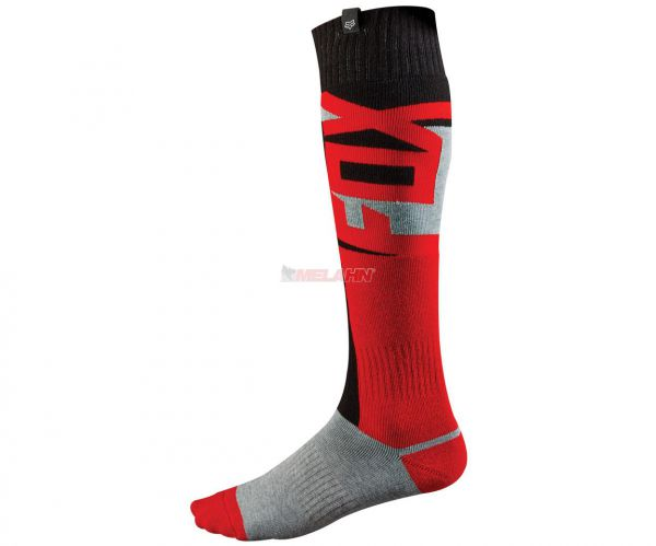 FOX Socke (Paar): FRI dünn, rot