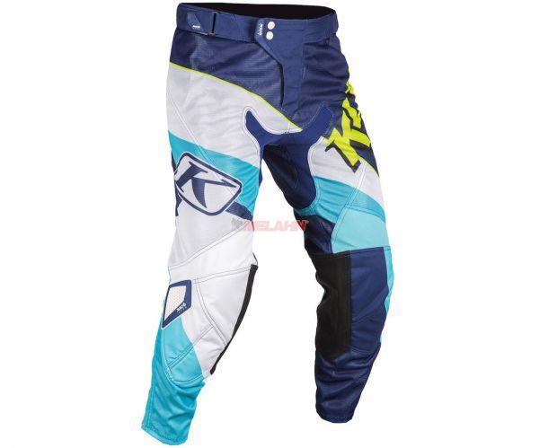 KLIM Hose: XC Lite, blau