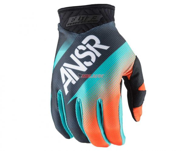 ANSWER Handschuh: Elite, teal/orange