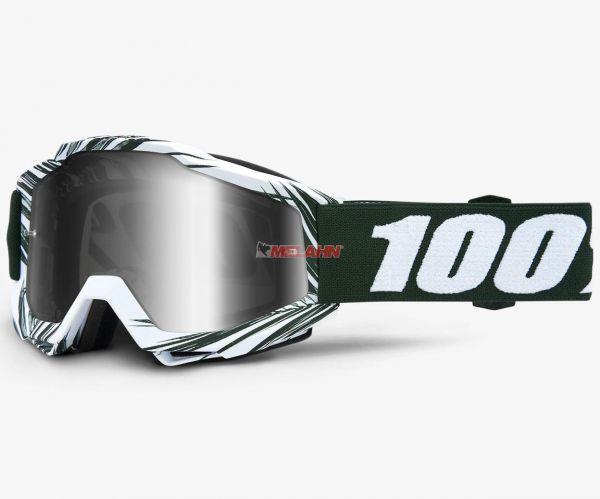 100% Brille: Accuri Bali, grün/Silber
