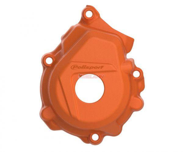 POLISPORT Zündungsdeckelschutz 250/350 SX-F 16-, orange