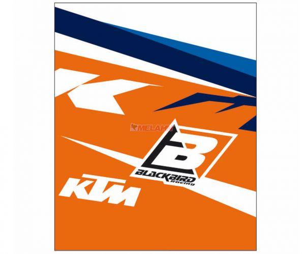 BLACKBIRD Clean-Grip mit Klettverschluß (Paar): KTM