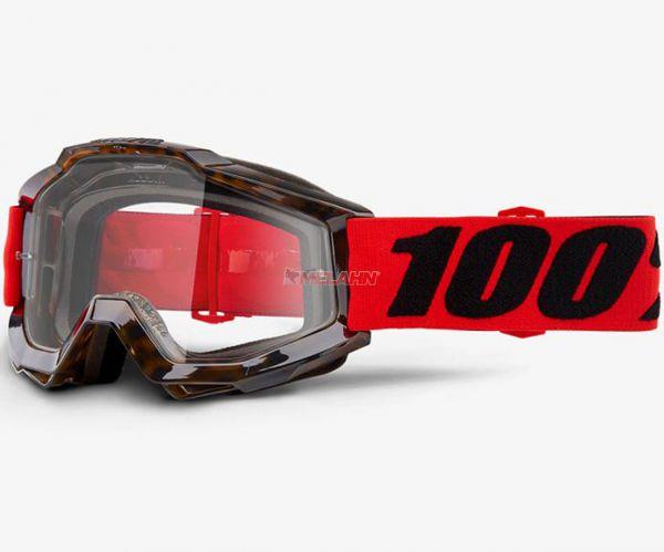 100% Accuri Vendome Goggle Motocross MTB MX Enduro Cross Brille, orange/schwarz