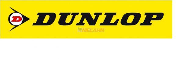 DUNLOP Aufkleber gelb, 21,5x4,5cm