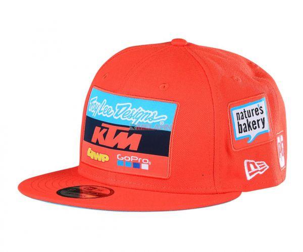 TROY LEE DESIGNS Snapback: KTM Team, orange