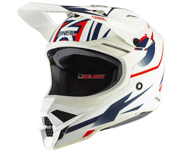 ONEAL Helm: 3Series, Riff 2.0, weiß/blau