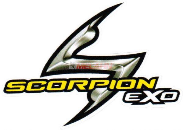 SCORPION Aufkleber: Logo 8x5,5cm