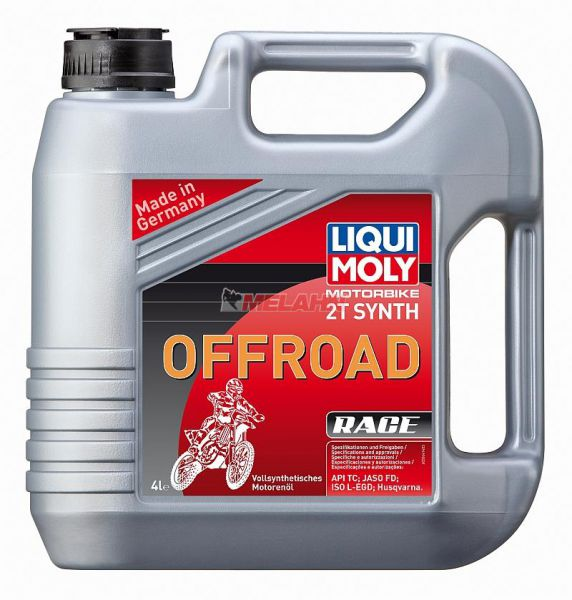 LIQUI MOLY Motoröl: Motorbike 2T Synth Offroad Race, 4l