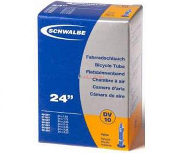 """SCHWALBE Schlauch Nr.10 24""""""""40-507 AV"""