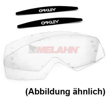 OAKLEY Ersatzglas Roll-Off (2 Stück) Proven MX, klar