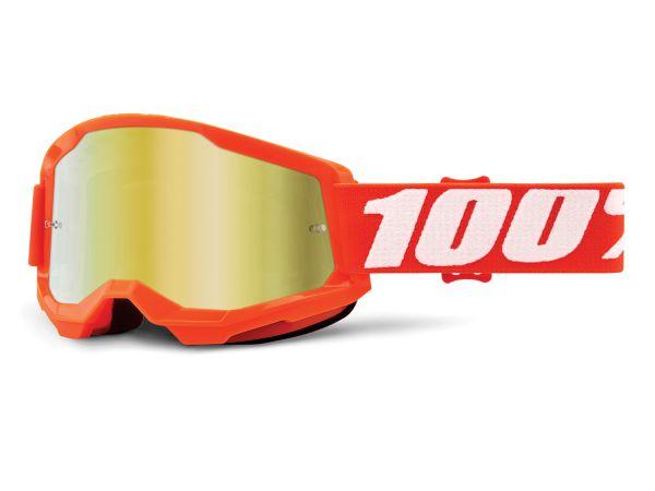 100% Brille: Strata 2, orange