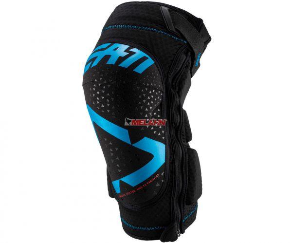 LEATT Knieprotektor (Paar): 3DF 5.0 Zip, schwarz/blau