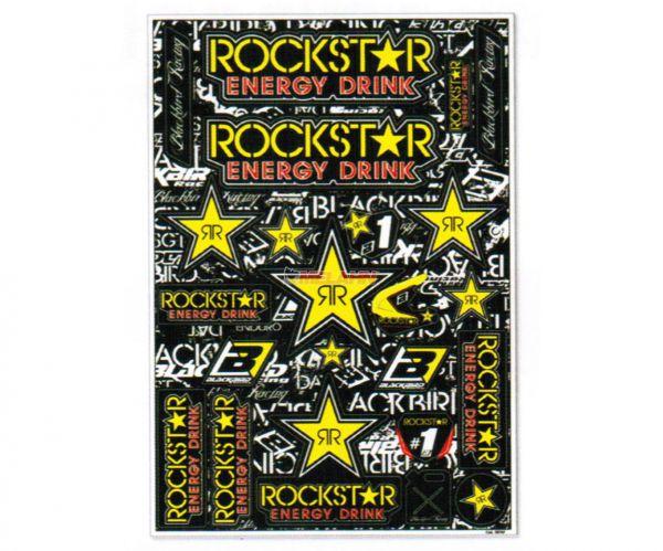 BLACKBIRD Aufkleber-Kit: Rockstar (25-teilig)