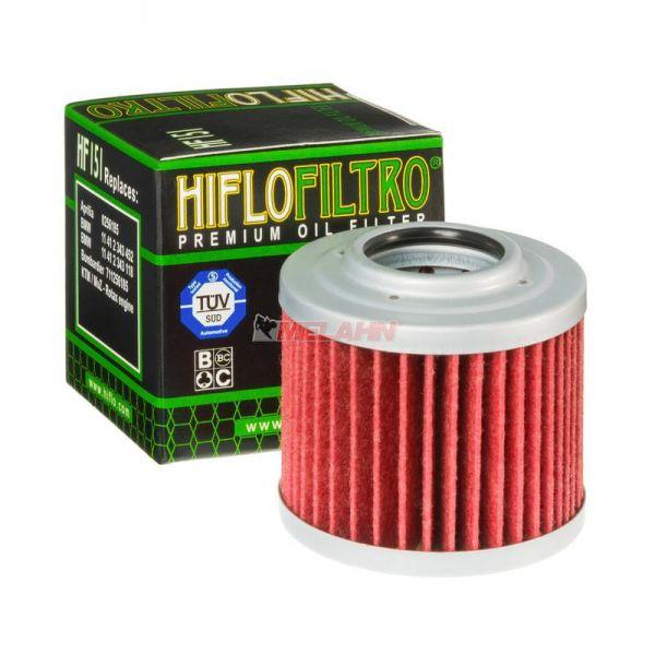 HIFLO Ölfilter HF151, BMW F650 1994-2008 / G650 2009-2015