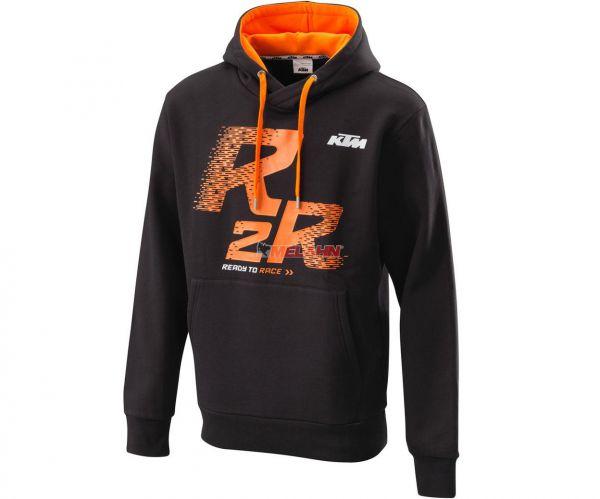 KTM Hoody: R2R, schwarz/orange