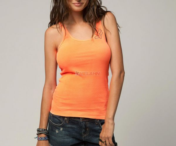 FOX Girls Tank-Top: Miss Clean, orange