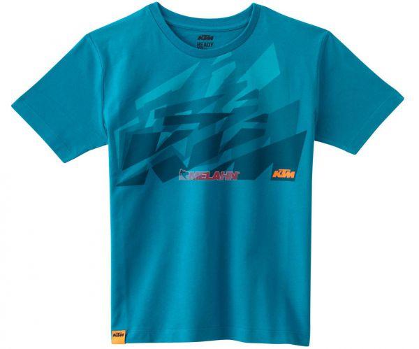 KTM Kids T-Shirt: Sliced, blau