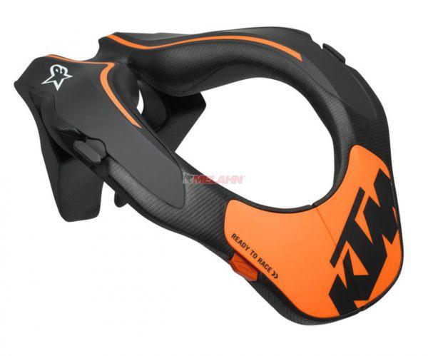 KTM Kids Neck Brace: Alpinestars schwarz/orange