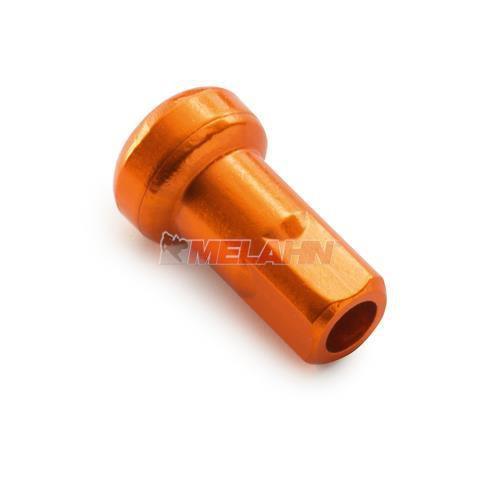KTM Aluminium Speichennippel M4,5 (1 Stück), orange