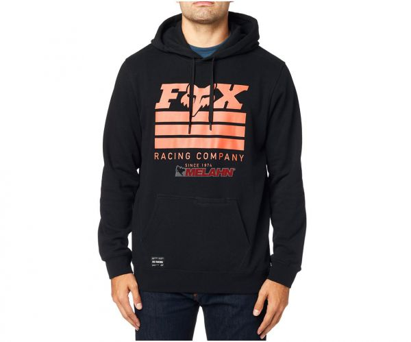 FOX Hoody: Street Legal, schwarz/orange