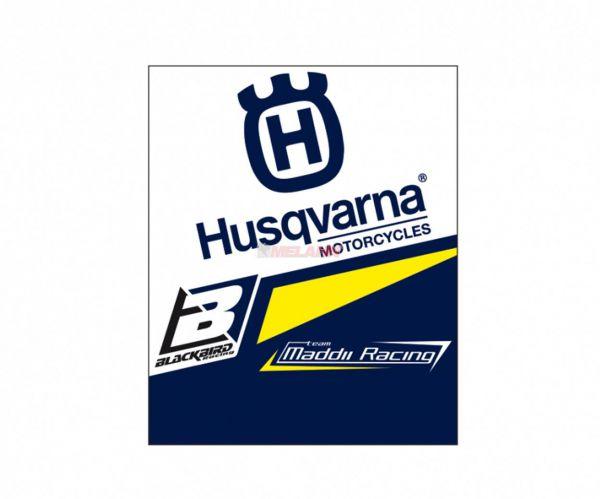 BLACKBIRD Clean-Grip mit Klettverschluß (Paar): HUSQVARNA