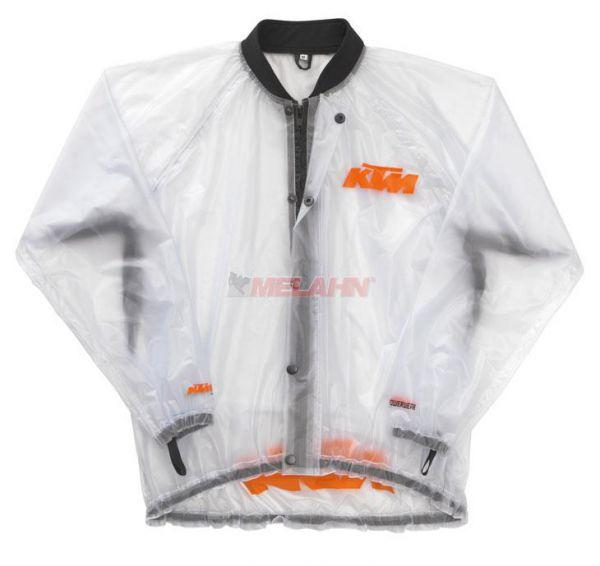 KTM Regenjacke, transparent
