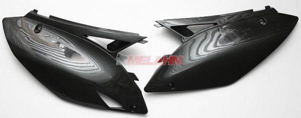 UFO Seitenteile (Paar) KXF 450 09-11, schwarz