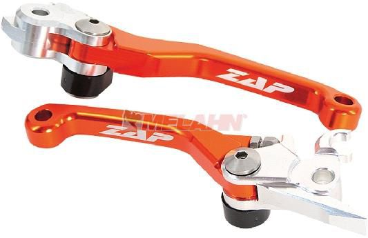 ZAP Flex-Kupplungs-/Bremshebel-Set (Magura/Brembo) 09-13 , orange
