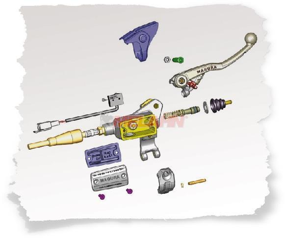 MAGURA Deckel für Bremsgeberzylinder